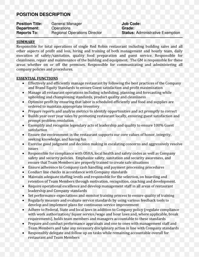 R Sum Job Description Curriculum Vitae Cover Letter