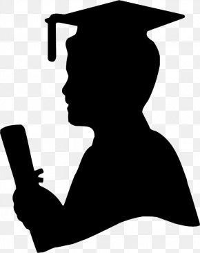 Congratulations Graduation Silhouette - Graduation Ceremony Graduate University Silhouette Image Clip Art PNG