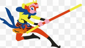 Cartoon Sun Wukong - Sun Wukong Journey To The West Pigsy Xuanzang Sha Wujing PNG