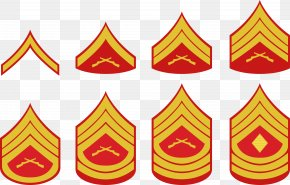 Police Signs Collection - United States Marine Corps Rank Insignia Military Rank Enlisted Rank Army Officer PNG