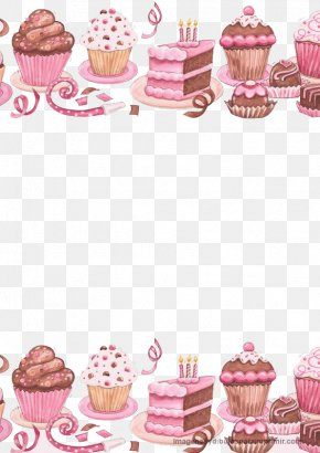 Delicious Cake - Cupcake Birthday Cake Icing Clip Art PNG