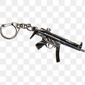 Weapon - Trigger Key Chains Firearm Metal Gun Barrel PNG