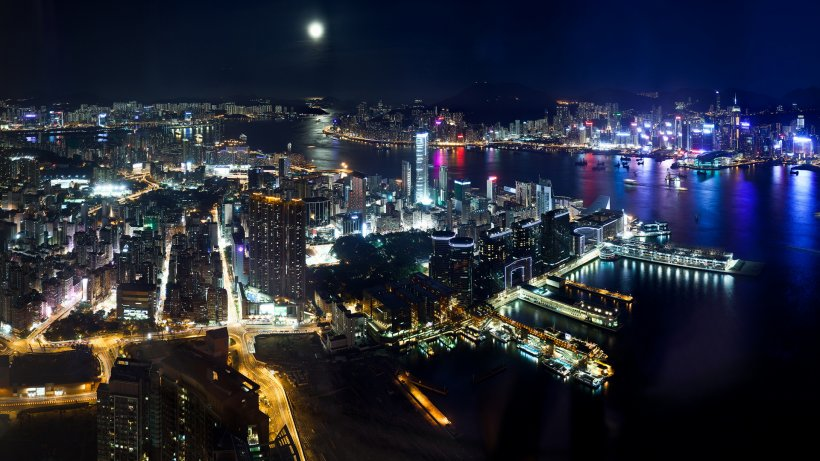 Hong Kong Desktop Wallpaper 4k Resolution Ultra High