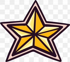 Golden Star - Stock Photography Royalty-free Clip Art PNG