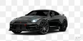 2010 Nissan GT-R - Nissan GT-R Car Alloy Wheel Tire Rim PNG