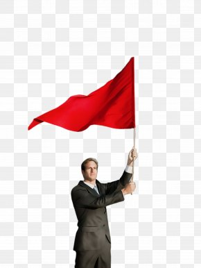 Smile Stock Photography - Flag Red Red Flag Gesture Stock Photography PNG