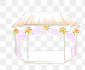 Vector Color Princess Room - Marriage Wedding Illustration PNG