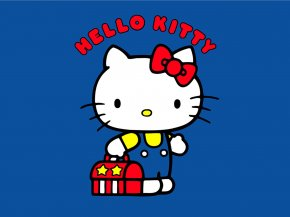 Hello Kitty Cheerleader Vector - Hello Kitty Cat Sanrio Cuteness PNG