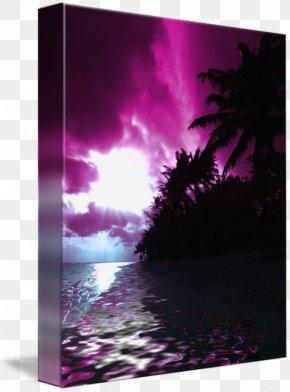 Hawaiian Sunset - Gallery Wrap Canvas Hawaii Art Bring It On PNG