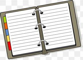 Big Log Cliparts - Student Diary Clip Art PNG