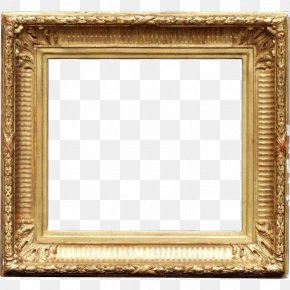 Gold Leaf - Picture Frames Gold Mirror Molding Stock Photography PNG