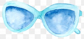 Sunglasses - Goggles Sunglasses Blue PNG