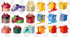Mysterious Spree Gift Box Vector Material - Gift Box Clip Art PNG