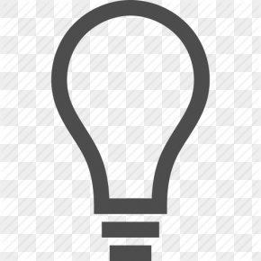 Lighting Thought Icon - Lighting Incandescent Light Bulb PNG