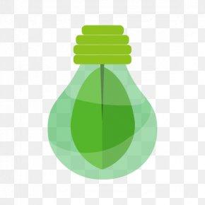 Vector Green Energy Light Bulb - Light Renewable Energy Solar Energy PNG