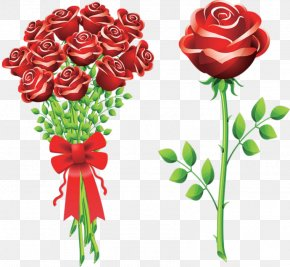Valentine's Day - Valentine's Day Flower Bouquet Propose Day Rose Clip Art PNG