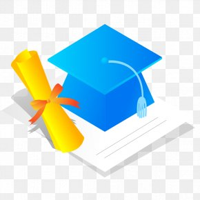 Bachelor Blue Cap Awards - Bachelors Degree Doctorate Academic Degree PNG