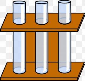 Test-Tube Cliparts - Test Tube Rack Test Tube Holder Laboratory Clip Art PNG