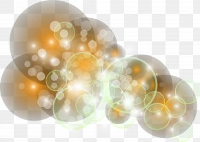 Dream Colorful Circle - Light Transparency And Translucency Wallpaper PNG