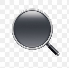 Black Magnifying Glass - Magnifying Glass Icon PNG
