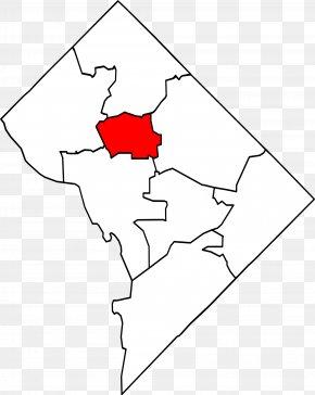 Map - Outline Of Washington, D.C. Map Clip Art PNG