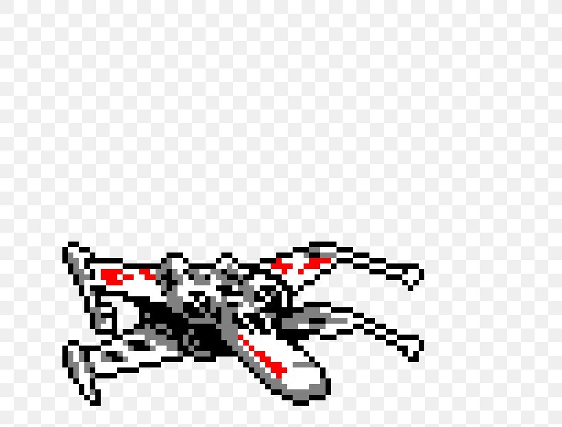 Star Wars X Wing Miniatures Game X Wing Starfighter Pixel Art Bead Png 720x624px Star Wars