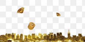 Golden City - Download City Computer File PNG