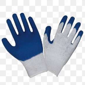 Line Gloves With A Blue Slip Layer - Medical Glove Polyvinyl Chloride Latex Personal Protective Equipment PNG