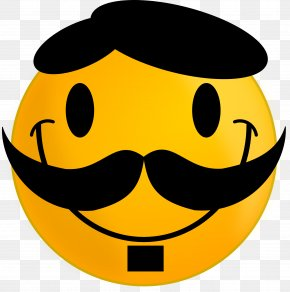 Moustache - Smiley Emoticon Moustache Clip Art PNG