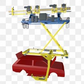 Car - Monorail Elektrohängebahn Automotive Industry Conveyor System Machine PNG