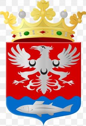 Coat Of Arms Of Netherlands New Guinea - Littenseradiel Bergambacht Leeuwarden Flevoland Provinces Of The Netherlands PNG