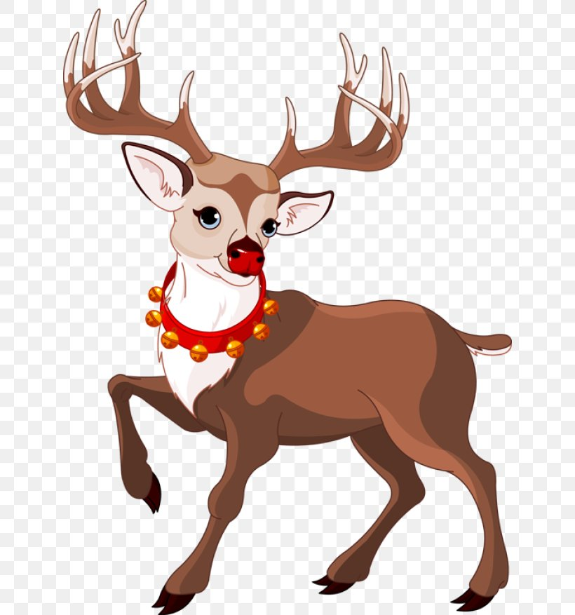 Download Rudolph The Red Nosed Reindeer Clipart