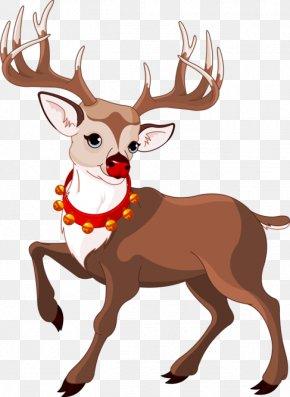Reindeer Hd - Rudolph The Red-Nosed Reindeer Clip Art PNG