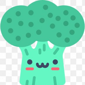 Hand-painted Broccoli - Fast Food Broccoli PNG