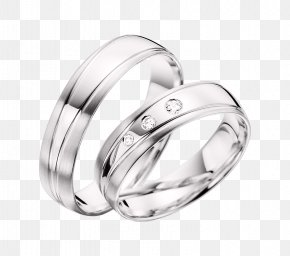 Ring - Wedding Ring Gold Silver Jewellery PNG