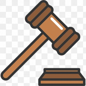 Lawyer - Gavel Judge Court Clip Art PNG