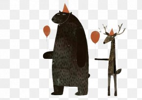 Brown Bear - This Is Not My Hat We Found A Hat Illustrator Picture Book Illustration PNG