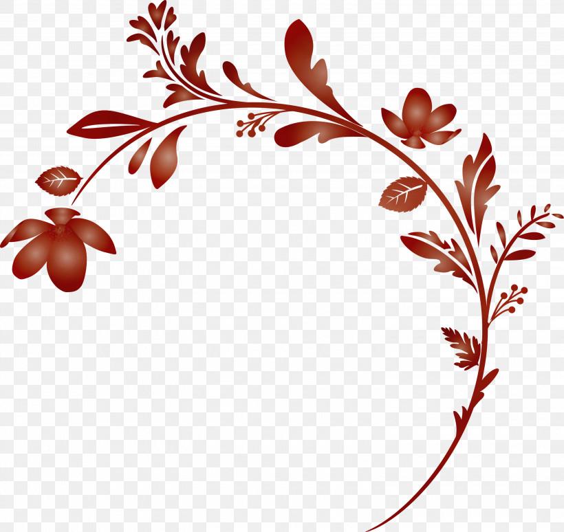 Leaf Plant Branch Flower Twig, PNG, 3000x2832px, Flower Frame, Branch, Decoration Frame, Floral Frame, Flower Download Free