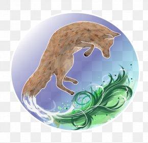 Watercolor Fox - Organism PNG