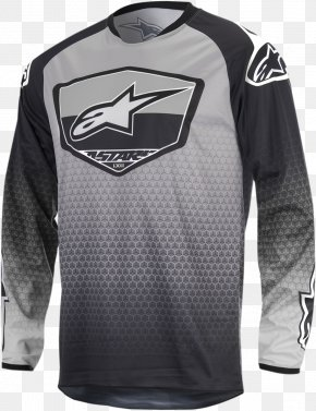 T-shirt - T-shirt Jersey Alpinestars Hoodie Motorcycle PNG