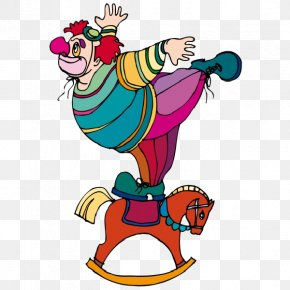 Funny Clown - Clown Circus Clip Art PNG