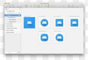 Design - Computer Program Application Software Material Design PNG