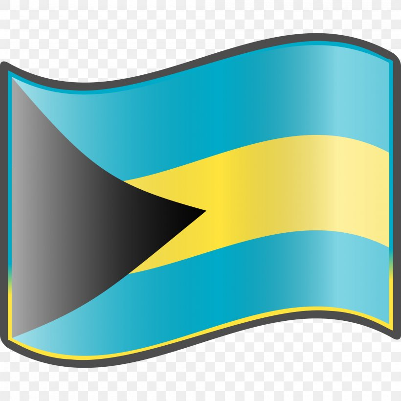 Flag Of The Bahamas National Flag Nuvola, PNG, 2000x2000px, Bahamas, Aqua, Brand, Defacement, Flag Download Free