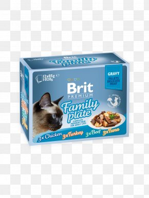 Cat - Gravy Cat Food Meat Fillet PNG