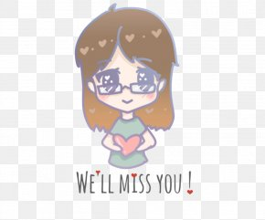 I Miss You - Logo Character Font PNG