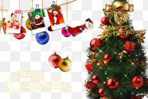 Love Christmas Background - Santa Claus Christmas Download PNG
