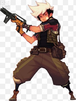 Pretty Little Liars - Assault Firearm Weapon Character Metal PNG