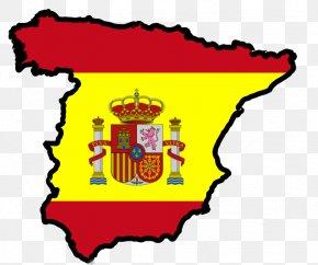 Flag - Flag Of Spain Spanish Instituto Cervantes PNG