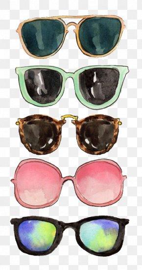 Sunglasses - Sunglasses Ray-Ban Lens Drawing PNG
