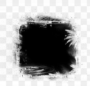 Black Frame - Black PNG